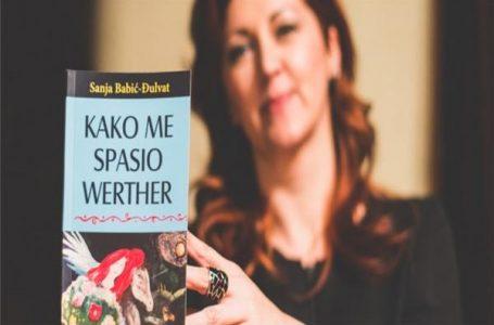 PROMOCIJA ROMANA SANJE BABIĆ-ĐULVAT KAKO ME SPASIO WERTHER
