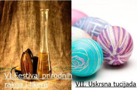 U sklopu Uskrsnih dana u HKD Napredak Zenica upriličen VI. Festival prirodnih rakija i VII. Uskrsna tucijada