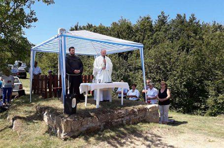 Proslavljena misa na Kruščiku u Čajdrašu