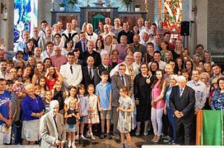 HRVATSKI VJERNICI LONDONA PROSLAVILI MISU ZA DOMOVINU Čestitali svom fra Ljubi 20. obljetnicu svećeničkog služenja