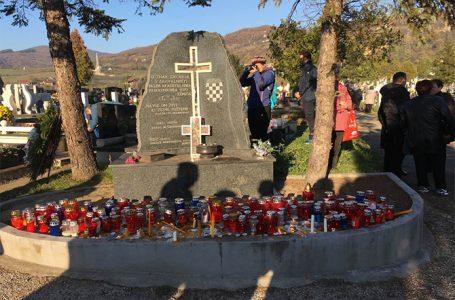 Braniteljske udruge zeničkog HVO-a položile vijence povodom blagdana Svih svetih