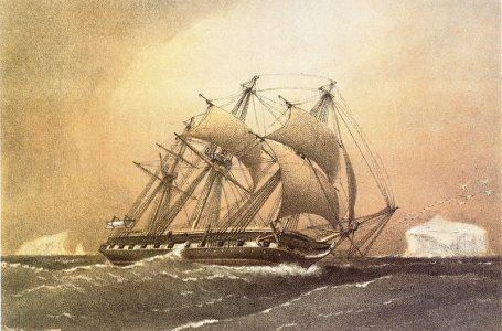 Brod Challenger po kojem je nazvana najdublja podmorska točka (1872.)
