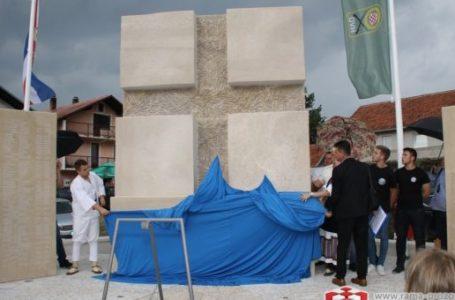 U Rami otkriven spomenik braniteljima Uzdola
