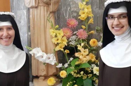 Prvi redovnički zavjeti u samostanu sv. Klare u Brestovskom