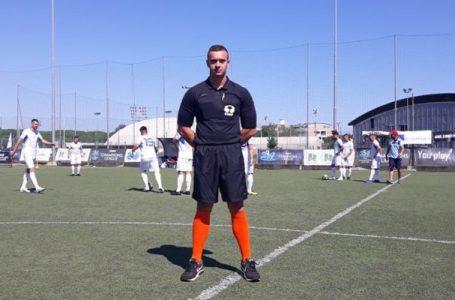 Travničanin Kristijan Sučić sudi EMF Ligu prvaka