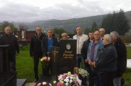 Peta godišnjica od smrti Petra Pandže, predsjednika Udruge ratnih dragovoljaca HVO-a Zenica