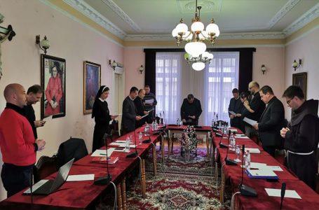 34. sjednica Povjerenstva za pripravu sinode Vrhbosanske nadbiskupije