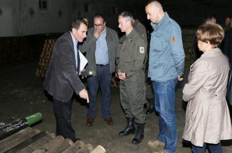 EUFOR će pomoći 'Vitezitu' oko skladištenja i uništavanja opasnih materija
