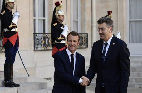 MACRON PLENKOVIĆU: Dragi Andrej izgradit ćemo snažnu bilateralnu suradnju između naših zemalja