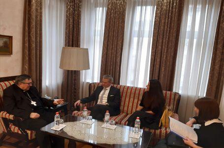 Kardinal razgovarao sa specijalnim predstavnikom EU u BiH
