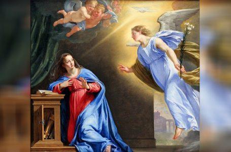 Svetkovina Blagovijesti nas podsjeća da Bog ide za nama kako bi nas vratio u stanje prije grijeha