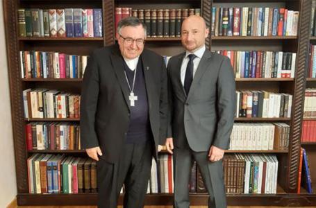 Kardinal Puljić i veleposlanik Slovačke Kač:Nužan dijalog na svim razinama u BiH kako bi suživot jačao