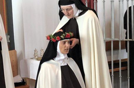 Karmelićanka sestra Marija od Boga položila doživotne zavjete!